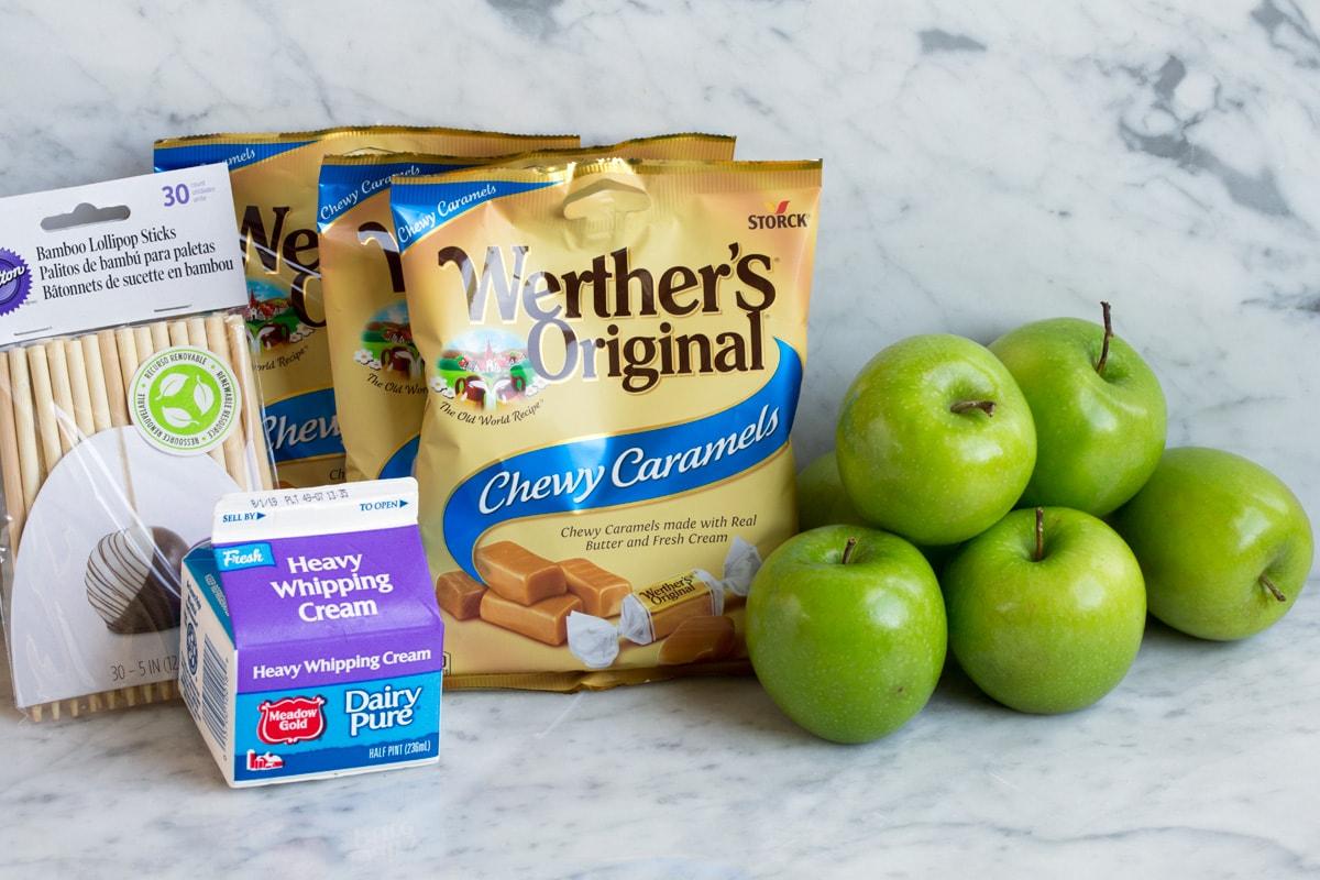caramel apple ingredients