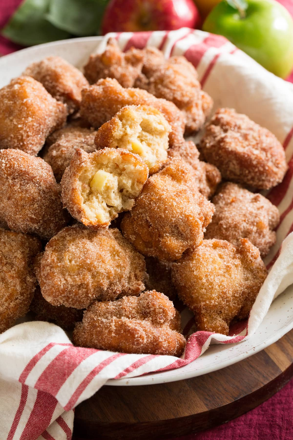 Apple Fritters Cooking Classy