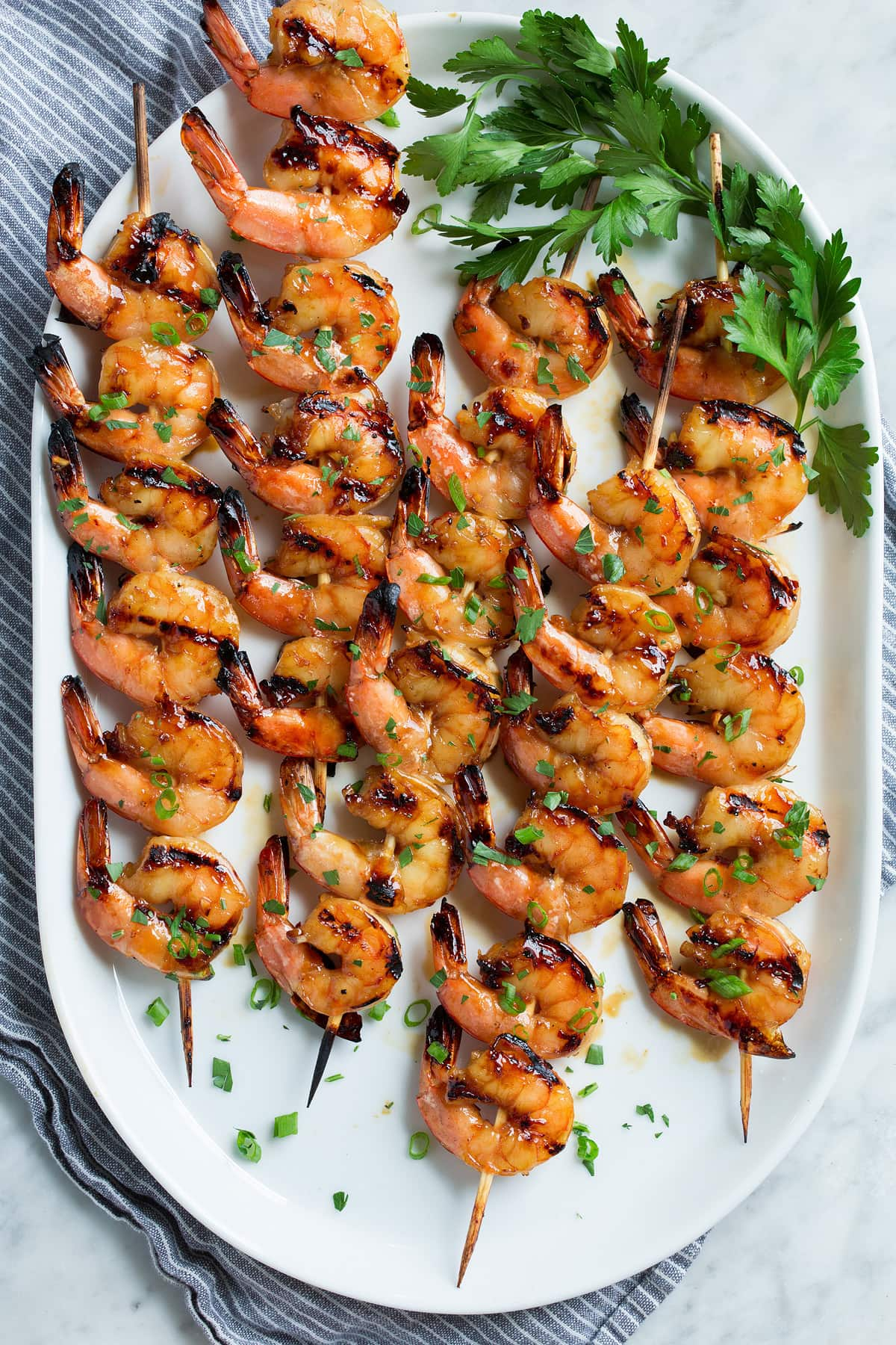 Grilled Shrimp With Honey Garlic Marinade Cooking Classy