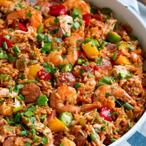 Jambalaya Recipe - Cooking Classy