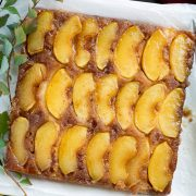 apple upside down cake