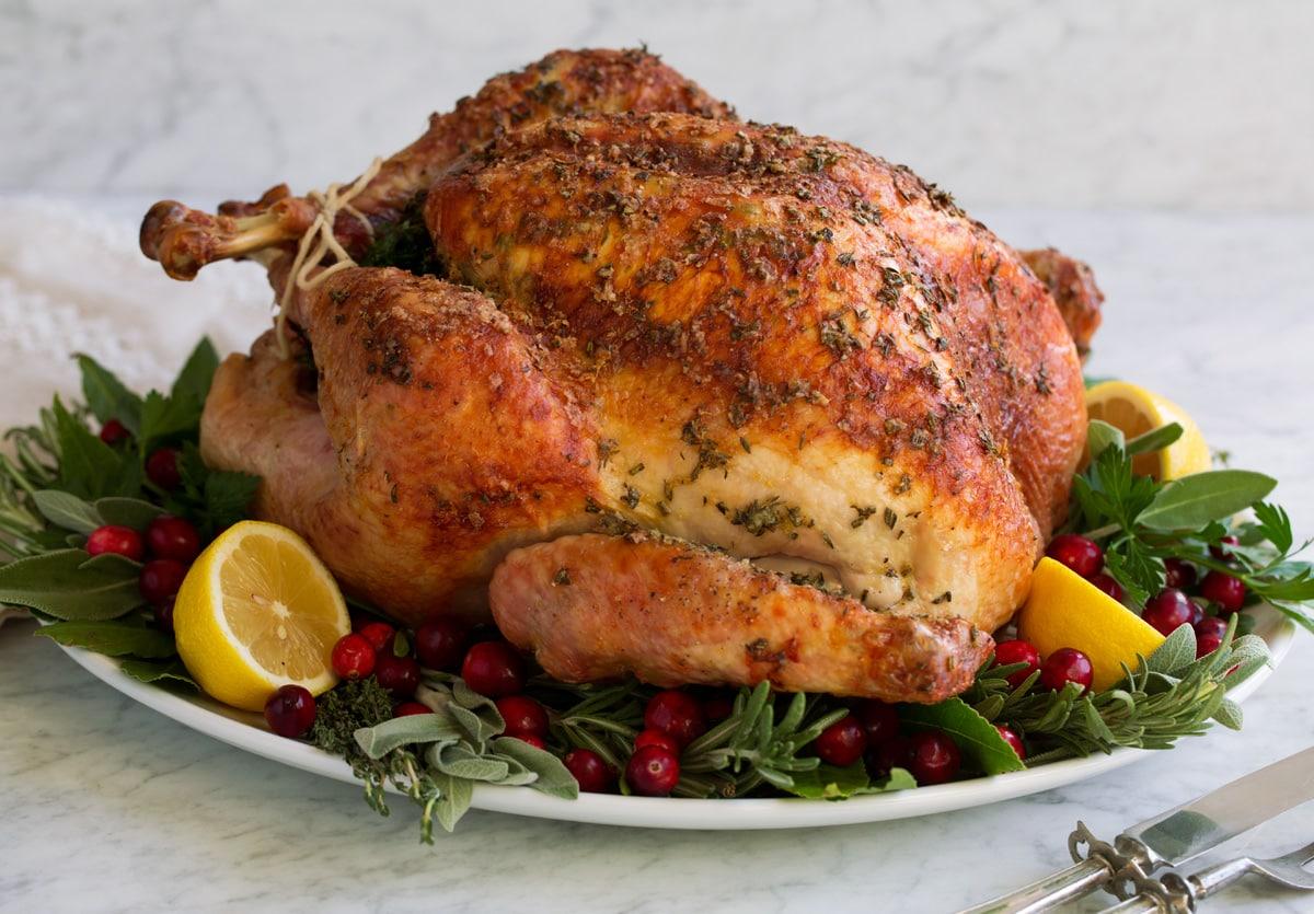 Roast Turkey Recipe Cooking Classy