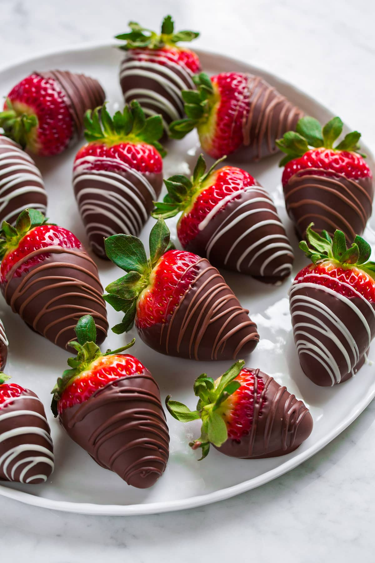 Chocolate Covered Strawberries - Cooking Classy
