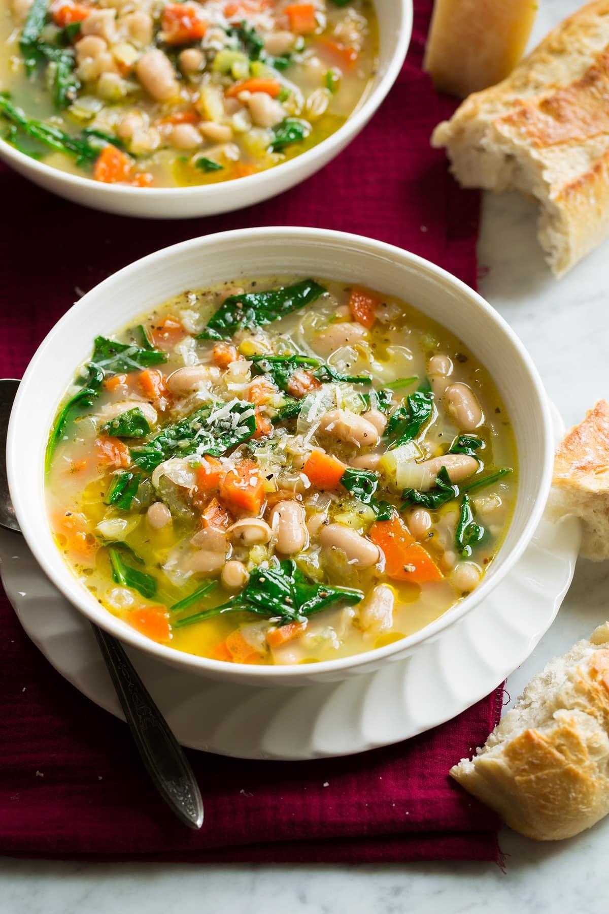 Bean Soup {Tuscan Style}