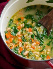 Bean Soup in a large pot.