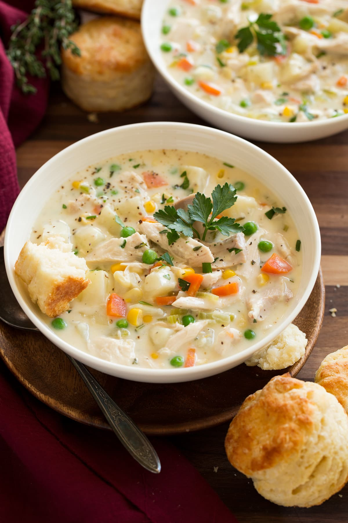 Chicken Pot Pie Soup Cooking Classy