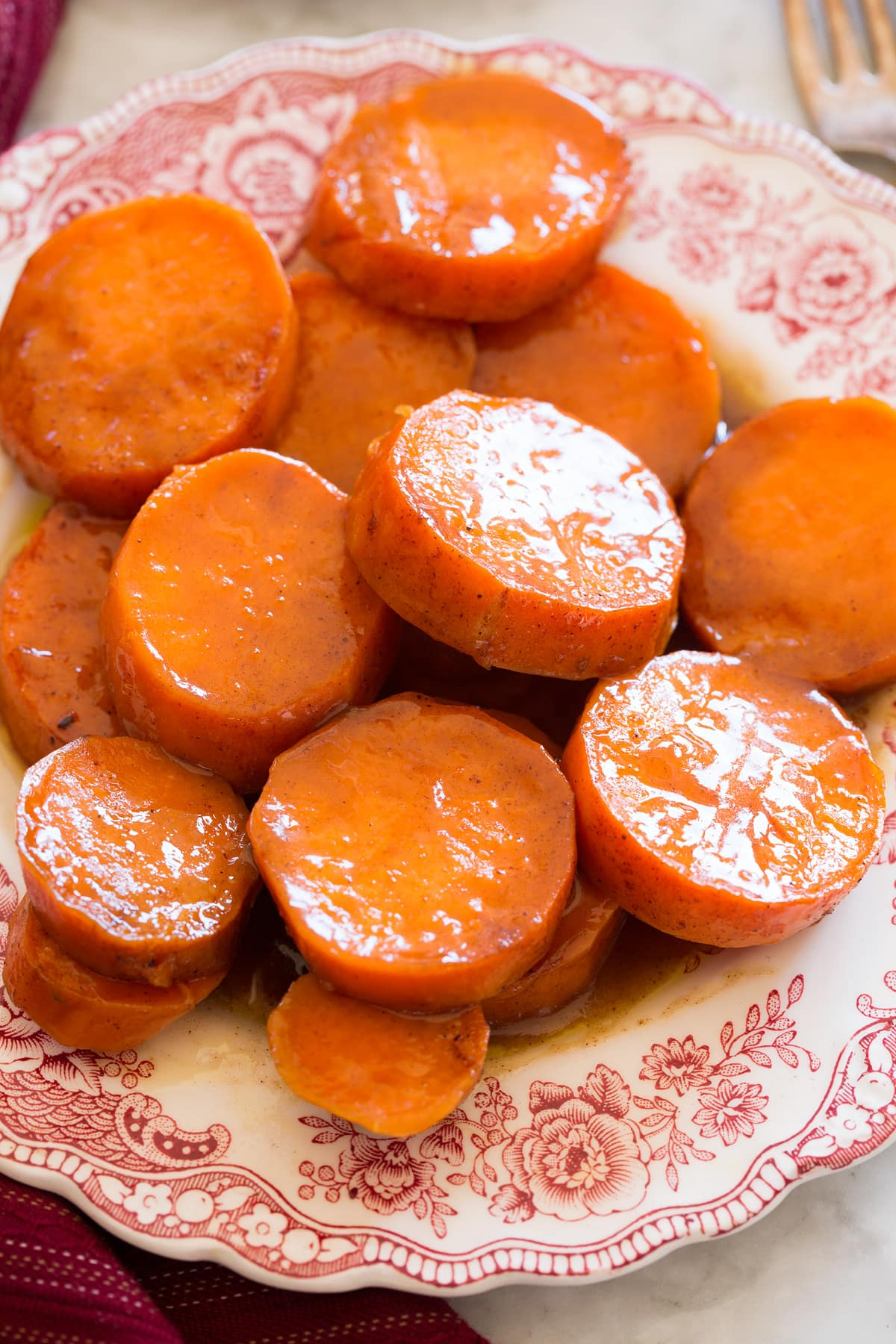 Candied Yams Sweet Potatoes Cooking Classy