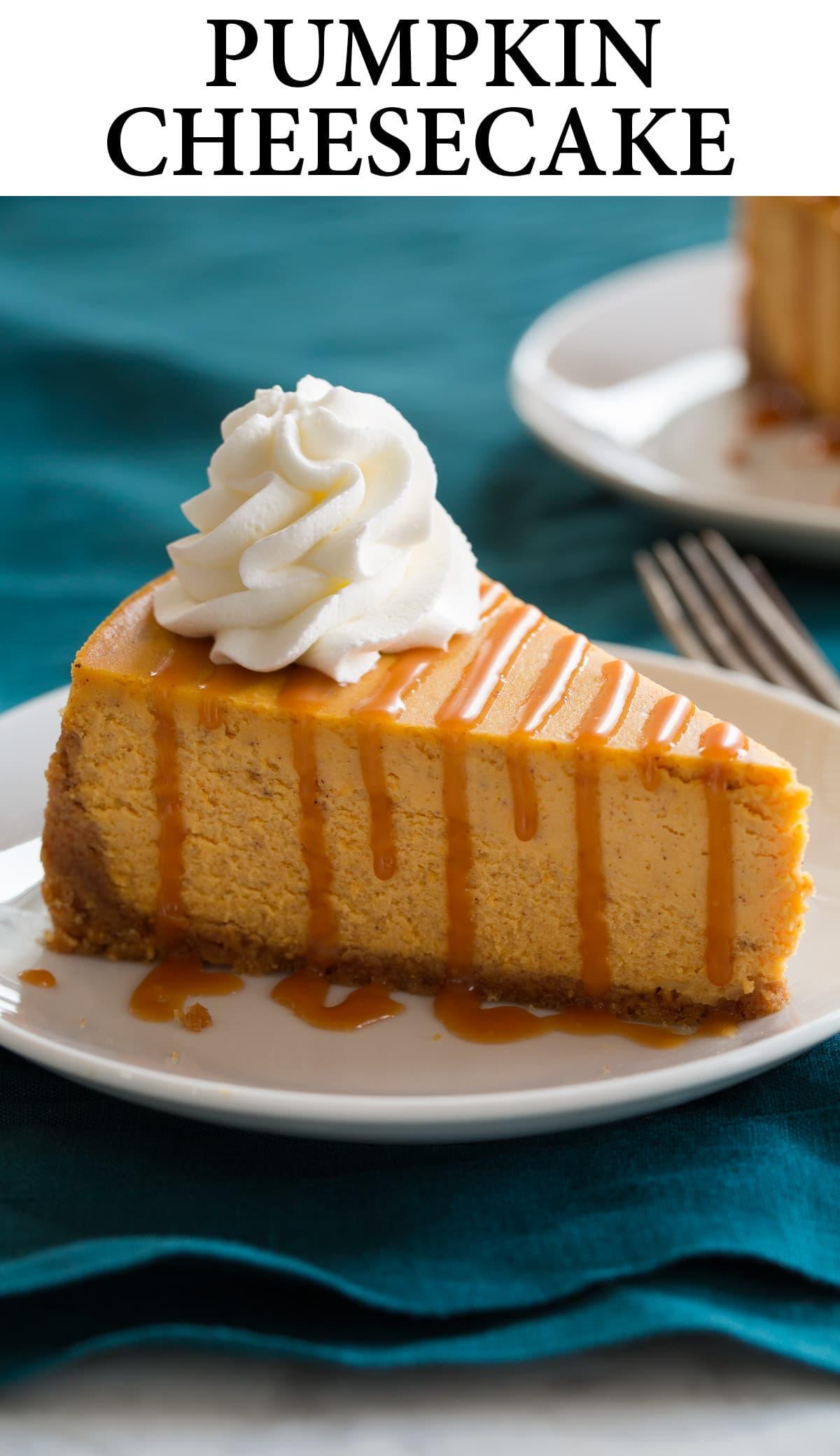 Pumpkin Cheesecake Recipe Cooking Classy