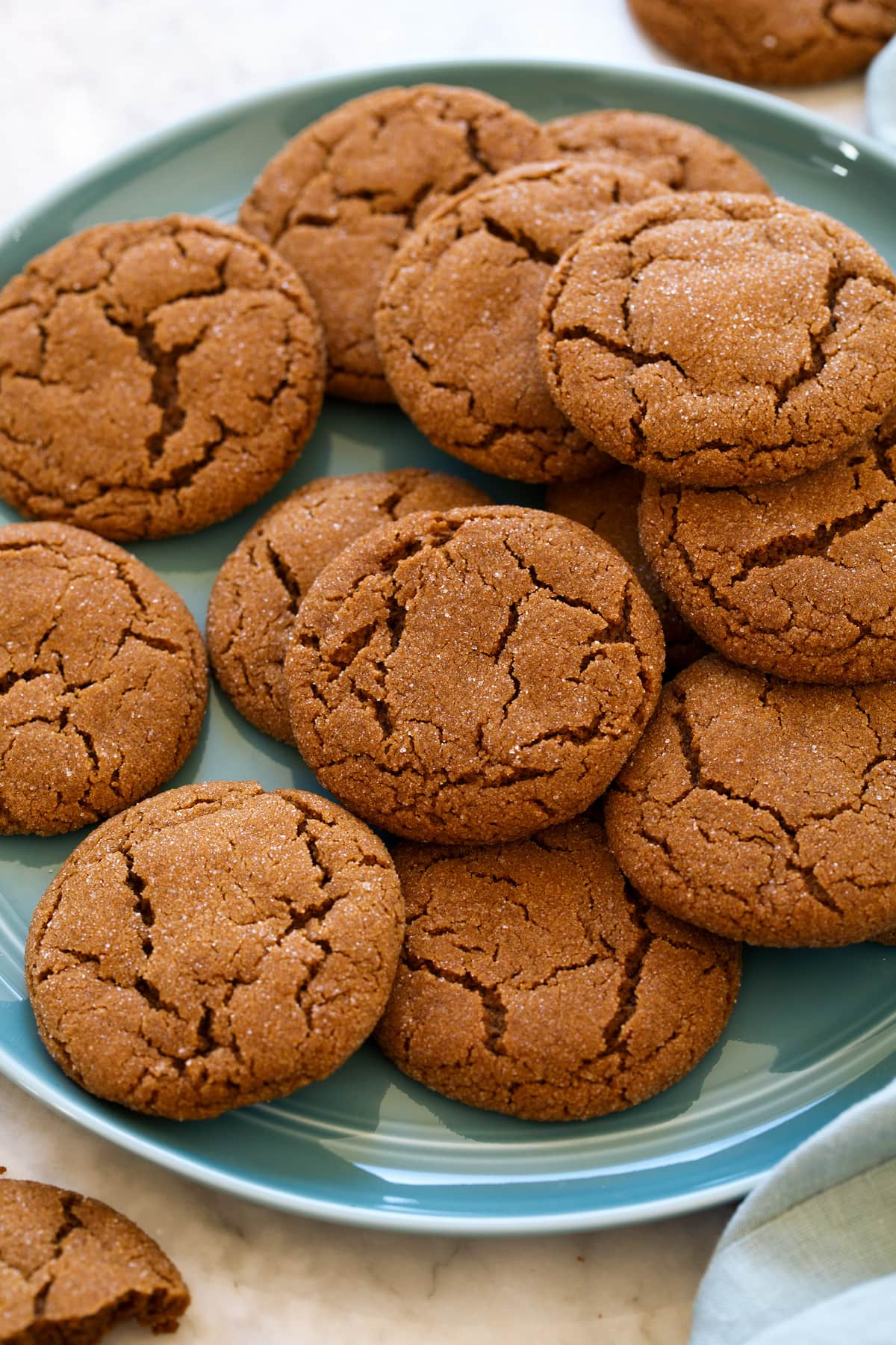 Molasses Cookies Cooking Classy