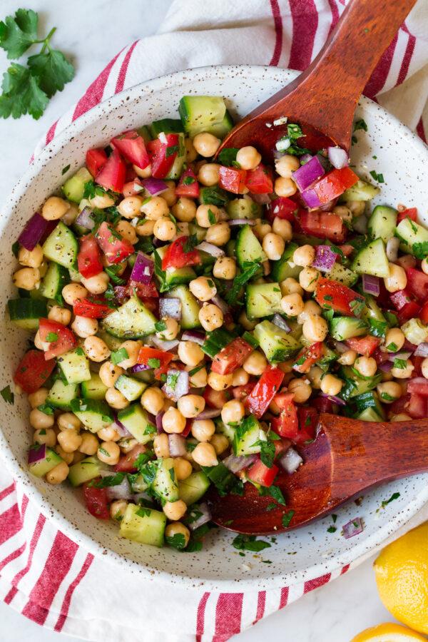 Grilled Halloumi Salad with pomegranate, quinoa, Hazelnut